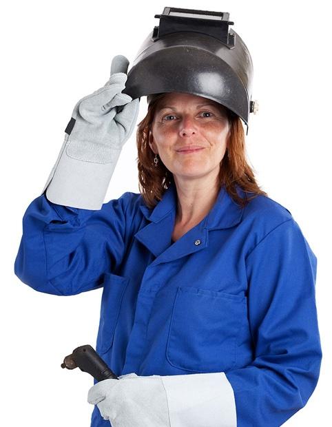 Female Industry Worker